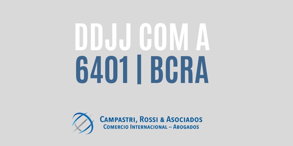 DDJJ COM A 6401